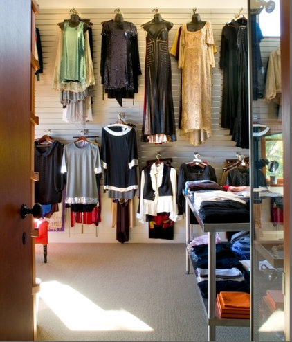 Contemporary Closet by Tracy Murdock Allied ASID