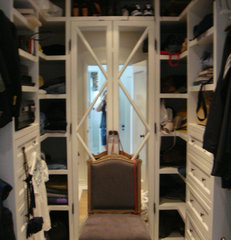 eclectic closet by rice paddies interiors