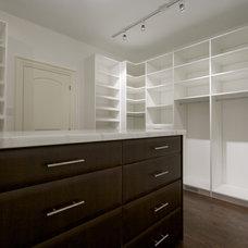Contemporary Closet by CLOSET ENVY INC.