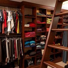 Traditional Closet by Rizzo & Company