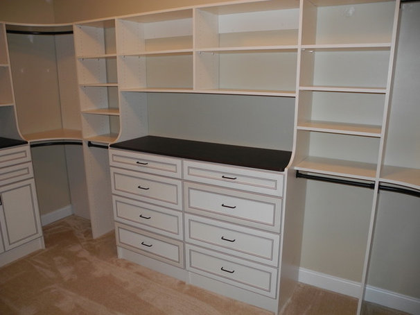 Traditional Closet by All About Closets