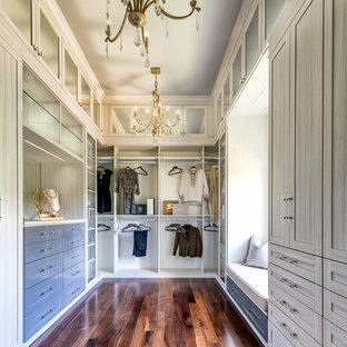 Master Bath Closet - Mike Ford Custom Homes - Witherspoon Parade Model