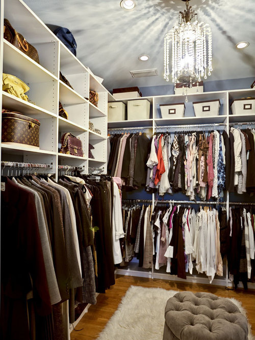Master bathrooms with closets home design ideas pictures - Houzz master bedroom walk in closets ...