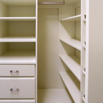 Master Bedroom Walk-in Custom Closet with Maximum Storage and  Organization