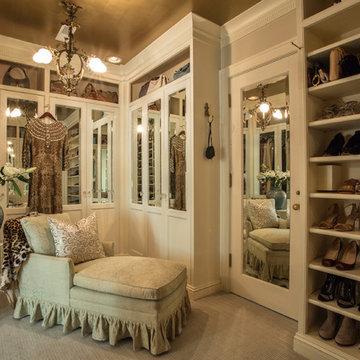 Master Bedroom Woman's walk-in closet, sanctuary