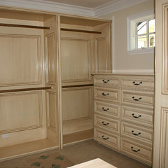 traditional closet by Garcia Cabinetmakers