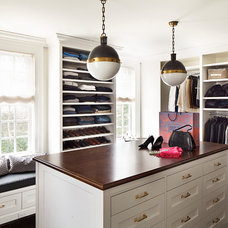 Traditional Closet by Alisberg Parker