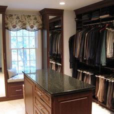 Traditional Closet by Closet Factory - Boston