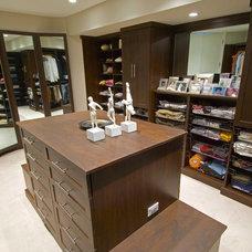 Contemporary Closet by Closets Etc., Inc.
