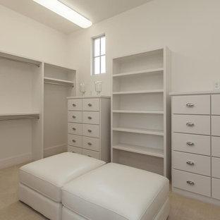Example of a classic closet design in Austin