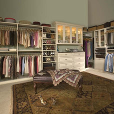 Traditional Closet by Distinctive Closets