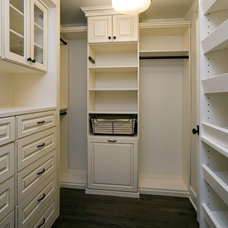 Craftsman Closet by Great Rooms Designers & Builders