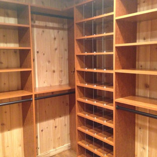 This is an example of a mid-sized traditional storage and wardrobe in Other.