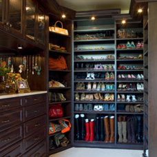 traditional closet by Jennifer Stoner Interiors