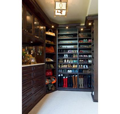 Traditional Closet by Jennifer Stoner Interiors