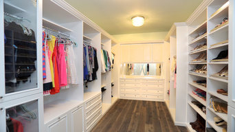 Master Closet Painted White Tampa