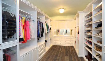 Master Closet Painted White Tampa