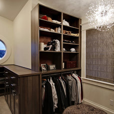 Traditional Closet by Paul Moon Design