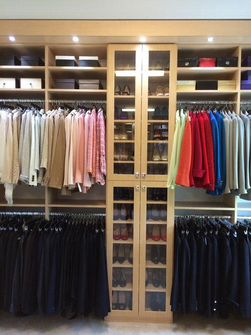 Master Closet Redesign