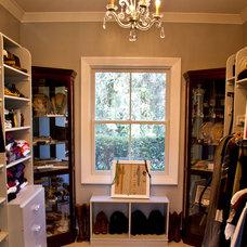 Traditional Closet Master Closet Remodel
