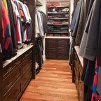 Master Closet Traditional Closet Boston By Richard