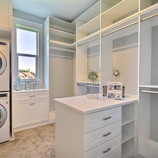 Master Closet - The Aerius - Two Story Modern American Craftsman