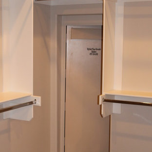 Master Closet with Built-in Shelter