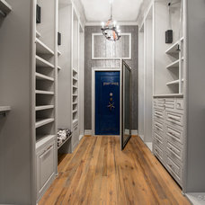 Contemporary Closet by Jonathan Ivy Productions