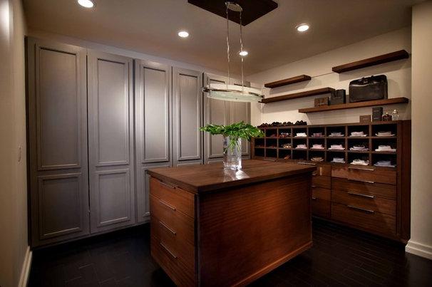 Contemporary Closet by Wolfe Rizor Interiors