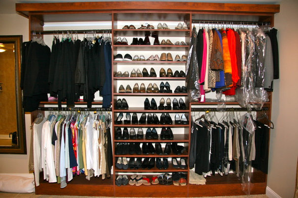 Traditional Closet Master Closets