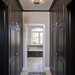 traditional closet by Great Rooms Designers & Builders