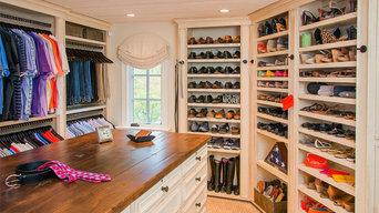 Master Dressing Room in Danville 1 - Design