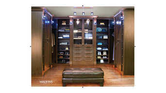 Master Dressing Room Walk-In Closet