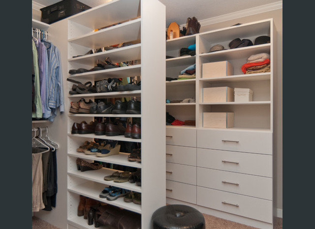 Traditional Closet by Redstone Builders