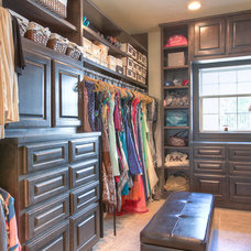 Traditional Closet by Incredible Renovations LLC