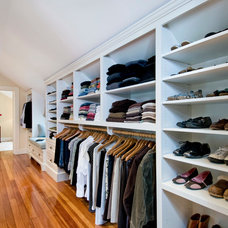 Traditional Closet by Landmark Services Inc