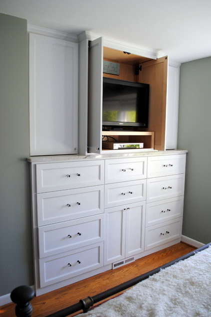 Traditional Closet by Elizabeth P. Lord Residential Design