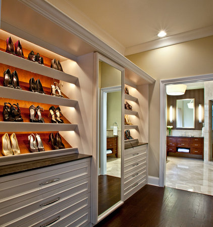 Traditional Closet by TZS Design