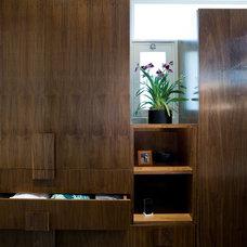 Modern Closet by Angela Dechard Design