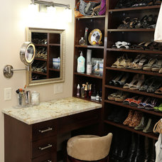 Traditional Closet by Coldwell Banker Burnet