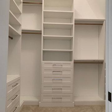 Master Suite Makeover - Closet