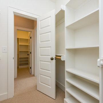 Master Suite Walk-in Closets