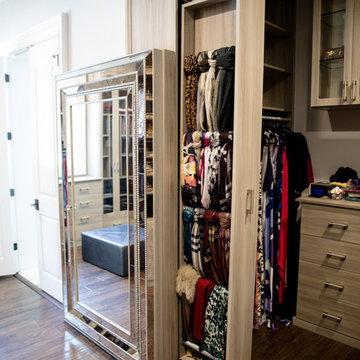 Master Walk-in Closet in Buckhead - Atlanta, Georgia