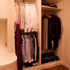 Traditional Closet by NuBirch Custom Cabinetry