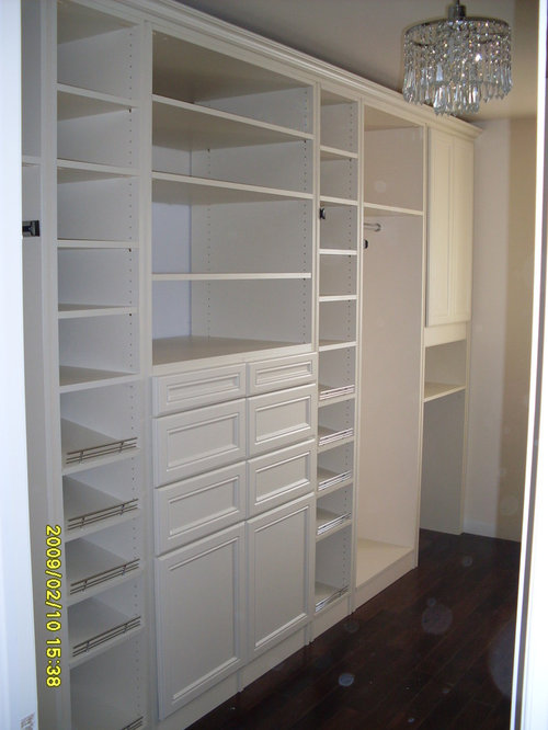 Master walk in closet home design ideas pictures remodel - Houzz master bedroom walk in closets ...