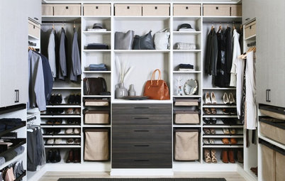 How to Design a His & Hers Wardrobe
