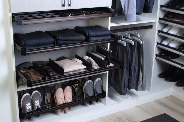 Contemporary Wardrobe by Tailored Living of North Dallas