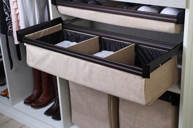 Contemporary Förvaring & garderob by Tailored Living of North Dallas