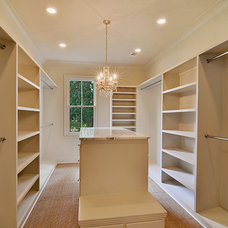 Traditional Closet by C.M. Oliver Architects