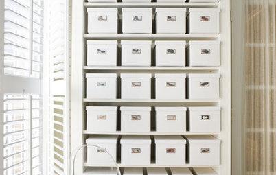 Cómo tener toda la casa ordenada usando cajas